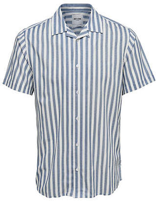 ONLY & SONS Wayne Short-Sleeve Regular Reverse Sport Shirt
