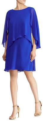 Lauren Ralph Lauren Draped Overlay Dress
