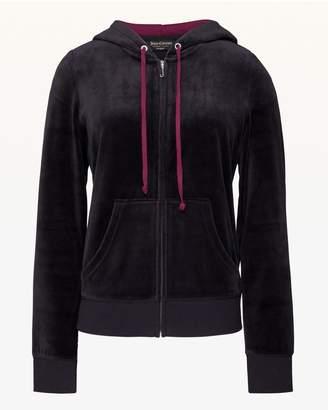 Juicy Couture Gothic Juicy Velour Robertson Jacket
