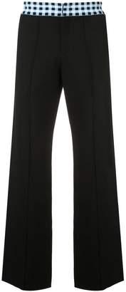 Wales Bonner straight-leg trousers