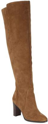 Saks Fifth Avenue Women's Marlow Tall Suede Heeled Boots