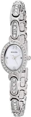 Bulova Women's Ladies Crystal, 96L199 Watch