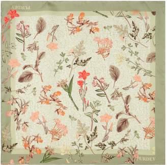 Purdey Silk Floral Scarf
