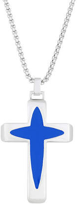 FINE JEWELRY Mens Stainless Steel Pendant Necklace
