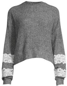 The Kooples Sweet Fleece Sweatshirt