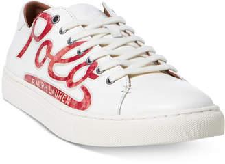 Polo Ralph Lauren Men's Jermain Logo Sneakers Men's Shoes