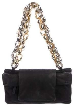 Paule Ka Chain-Link Shoulder Bag