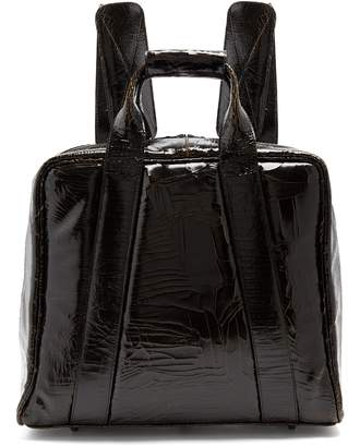 Marc Marmel Mack cracked-leather backpack