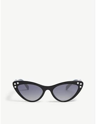 29825bb27fd2 Miu Miu SMU05T cat-eye-frame sunglasses