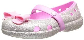 Crocs 16190 Keeley Bow Mary Jane Sneaker (Toddler/Little Kid/Big Kid)
