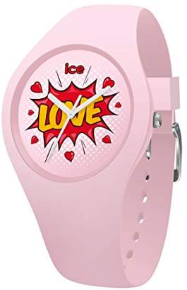 Ice Watch Ice-Watch - ICE love Splash - Girl's wristwatch with silicon strap - 015268 (Small)