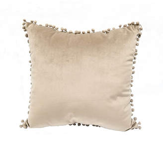 "Pillow Perfect Pompom 18"" Decorative Throw Pillow"