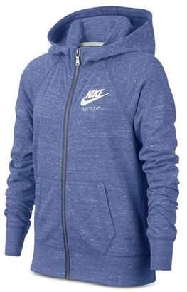 Nike Girls' Vintage Jersey Hoodie - Big Kid