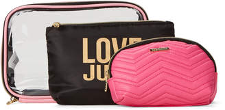 Juicy Couture 3-Piece Pink Love Juicy Travel Set