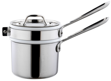 All-Clad® Saucepan with Ceramic Insert