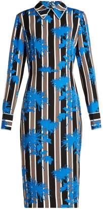 Diane von Furstenberg Shelford striped dress