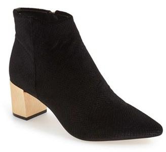 Women's Calvin Klein 'Narla' Block Heel Bootie $179.95 thestylecure.com