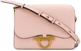 Salvatore Ferragamo Gancio flap shoulder bag