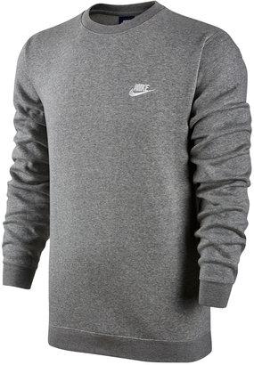 Nike Men's Crewneck Fleece Sweatshirt $40 thestylecure.com