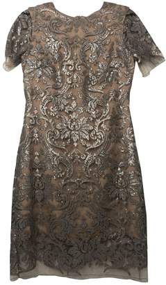 Dress the Population Metallic Lace Dress for Women