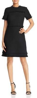 Kate Spade Fringed Tweed Dress