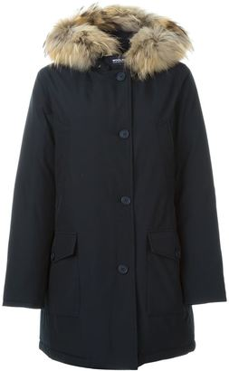 Woolrich hooded parka $623.13 thestylecure.com