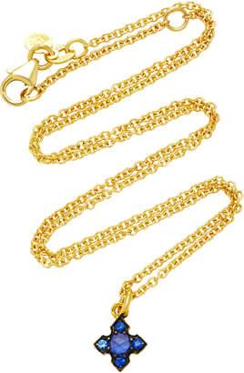 Ila Igafe 14K Gold Blue Sapphire Necklace