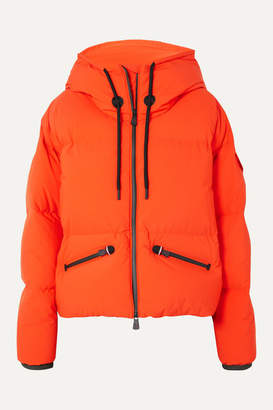 Moncler Airy Oversized Quilted Down Ski Jacket - Orange