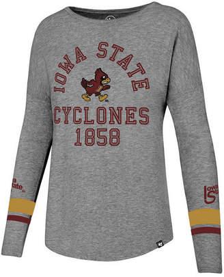 '47 Women's Iowa State Cyclones Courtside Long Sleeve T-Shirt