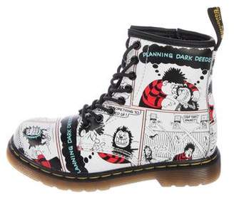 Dr. Martens Girls' Printed Ankle Boots