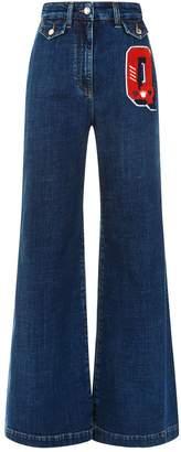 Dolce & Gabbana High Waisted Wide Leg Jeans