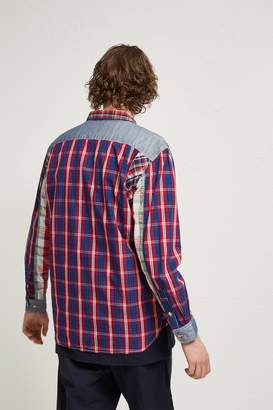 French Connection Outline Patchwork Shirt
