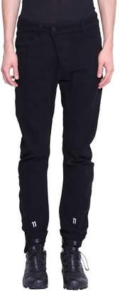 11 By Boris Bidjan Saberi Logo Cotton Sweatpants