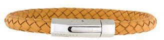 Canali Hexagon Clasp Leather Bracelet $65 thestylecure.com
