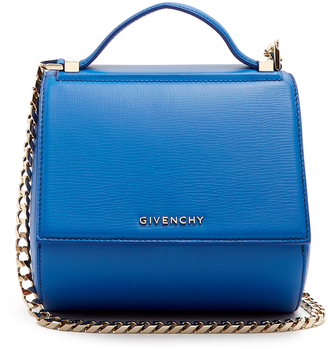 GIVENCHY Pandora Box mini leather cross-body bag $1,995 thestylecure.com