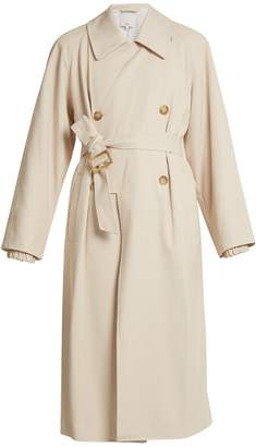 Tibi Belted double-breasted trench coat