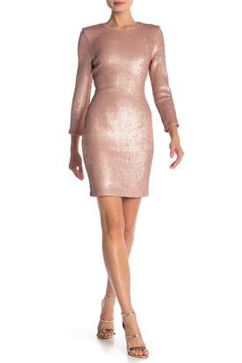 ABS by Allen Schwartz Quinn Sequined Mini Dress