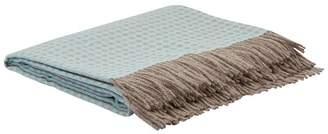 Simple Things Dotty Wool Reversible Throw (180cm x 130cm)