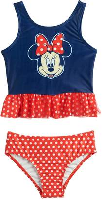 Disney's Minnie Mouse Toddler Girl Two-Piece Swimsuit by Dreamwave