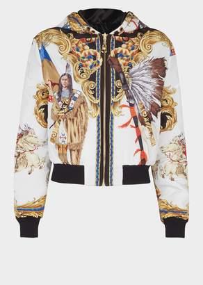 Versace Native Americans FW'92 Print Jacket