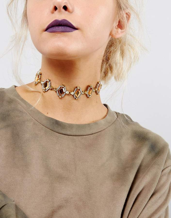 DesignB London Heirloom Gem Choker