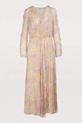 RED Valentino Silk crepe maxi dress