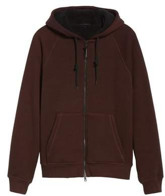 John Varvatos Fleece Lined Zip Hoodie