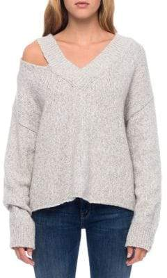 Line Molly Cut-Out Shoulder Sweater