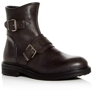 John Varvatos Men's Cooper Leather Moto Boots