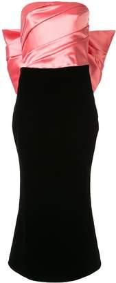 Rasario bow-embellished midi dress