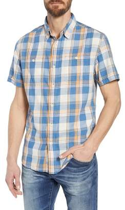 Grayers Sherman Plaid Slub Twill Sport Shirt