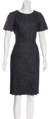 Derek Lam Structured Knee-Length Dress