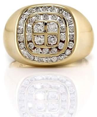 10K Yellow Gold 1.18ctw Diamond Ring Size 10