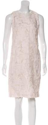 Calvin Klein Collection Textured Knee-Length Dress
